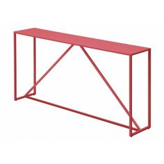 Blu Dot - Strut Console Table - think this might be a good option to brighten up the entrance