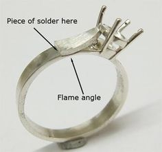 Adding Shoulders to the Tiffany Style Ring
