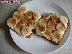 Healthy Food: Banaan Hüttenkäse Kaneel : Mascha's Beautyblog – Beautygloss.nl