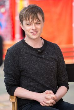 Dane Dehaan of 'The Amazing Spider-Man 2' volunteers for Sony's 'Be Amazing' campaign. Styled by Erin Walsh. Grooming by Kumi Craig.