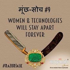 This is #MunchSoch. Shave it off with ur #RazorTalk. My #MarchWish. #YesAllWomen #Jaipur #Mumbai