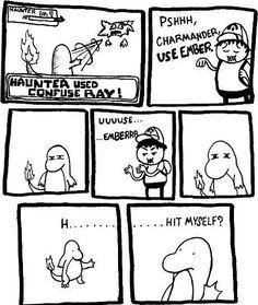 Confusion, so funny #pokemon