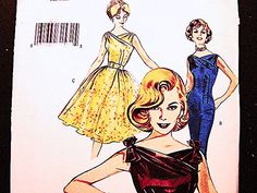 Excited to share the latest addition to my Etsy shop: Butterick Retro Dress Pattern 60s Misses Size 6 8 10 Women's Rockabilly Dress Full Skirt Dress Cocktail Dress Sheath Dress Pattern http://etsy.me/2CERCOp https://www.etsy.com/shop/patternsfromthepast