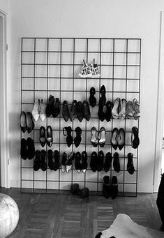 Como organizar sapatos - Regra nº3: limpe antes de guardar
