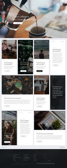 Cesis Ultimate Multipurpose PSD Template. Cesis is very clear, super flexible and full of powerful options. It comes with 15 homepage layouts.