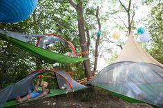 Tentsile: la mezcla perfecta entre tienda de campaña, hamaca y casita en el árbol (FOTOS, VÍDEO)
