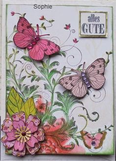 Sophie's Art: Butterfly - Schmetterling