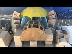 Pompeii Pizza Oven Build Step by Step - YouTube