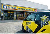 Quick Reifendiscount: Der Franchisegeber mit Markenreifen zu günstigen Preisen.