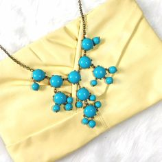 Vintage Buttercup Leather Clutch Soft yellow, super romantic styling! Some edge wear, no major scratches or flaws. Vintage Bags Clutches & Wristlets