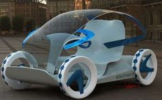 The 'Element' Concept Car Clears Up Traffic #eco #vehicles trendhunter.com
