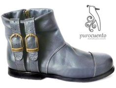 Biker, Ankle, Boots, Collection, Fashion, 7 Dwarfs, Female Dwarf, Leather, Over Knee Socks