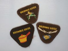 Vintage Brownie and guide badges « fromthelark Brownies Girl Guides, Brownie Guides, Guide Badges, Brownie Badges, My Memory, Popular Culture, Boy Scouts, Little Princess, Childhood Memories