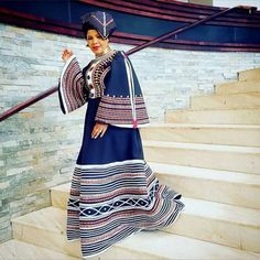 African Dresses For Women, African Print Dresses, African Fashion Dresses, African Women, African Prints, Fashion Outfits, Xhosa Attire, African Attire, African Wear