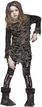 Girls Costume Walking Zombie | Tonzof.com