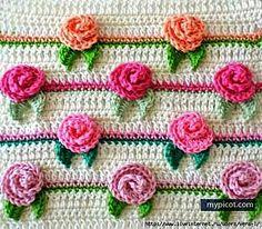Rose stitch