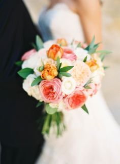 Dressed in the brightest of colors on the sunniest of days, this wedding is what summertime bliss is truly all about. It's a day kissed by that California pretty and designed alongside the talented Intertwined Events..and those textured blooms by Floral Occasions? Don't even get me