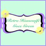 Go to RetroHousewifeGoesGreen.com and learn how we can speak for the trees and animals!