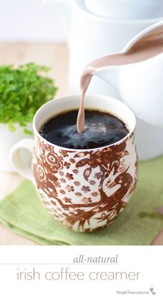Irish Coffee Creamer - Enjoy the full, rich flavor of Irish cream ...