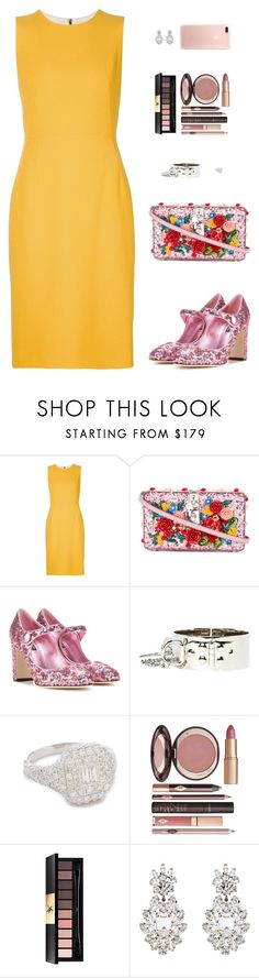 """Sin título #4549"" by mdmsb on Polyvore featuring moda, Dolce&Gabbana, Shay, Charlotte Tilbury, Yves Saint Laurent y dolceandgabbana"