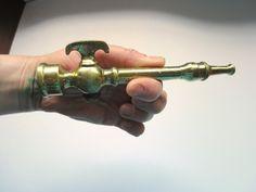 Antique Brass Fire Nozzle Fireman Fire Fighter Gift by JackpotJen