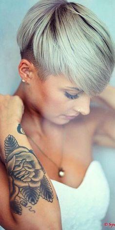 Sexy lady's opgelet! 10 verleidelijke korte kapsels die elke vrouw prachtig zou staan! - Pagina 2 van 10 - Kapsels voor haar