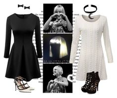 """""""1000 forms of fear bounds -hannah"""" by fandomsarelife ❤ liked on Polyvore featuring Sia, Valentino, Marc by Marc Jacobs, women's clothing, women's fashion, women, female, woman, misses and juniors"""