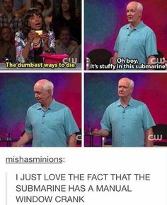 I'm so happy this is back on the air! Whose Line is it Anyway?