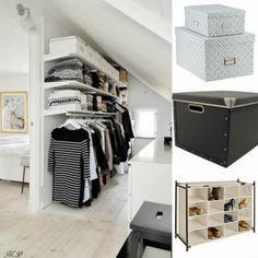 Ιδέες για Διακόσμηση: Οργανώνω και αποθηκεύω τα ρούχα μου!