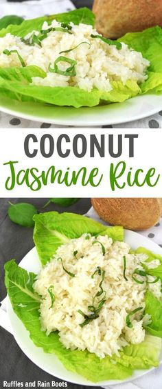 Coconut Rice Recipe – A Kid-Approved Dish! ND Consulting ndcfullcircle MBLS Food/Recipes Make this coconut rice recipe in just minutes! Jasmine Rice Recipes, Coconut Recipes, Healthy Crockpot Recipes, Baby Food Recipes, Cooking Recipes, Cooking Rice, Easy Recipes, Recipe For Coconut Rice, Rice