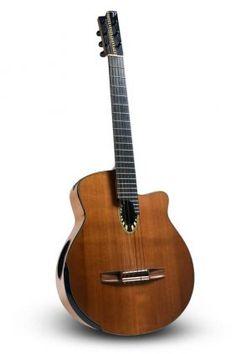 """Guernica"" Nouveau Flamenco Guitar by Allan Beardsell,"