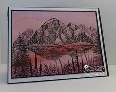 ONECRAZYSTAMPER.COM: Water Color Paper Background Tutorial Feb 22, 2016