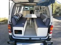 hiace campervan interior - Google Search