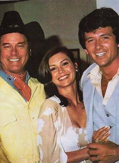 Larry, Victoria & Patrick in 1978