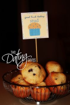 Little pick me up for J heading into second year of residency....surprise stud muffins at 430 am :)