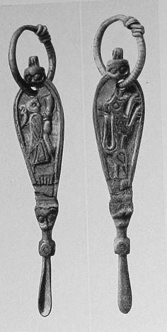 Viking age / Ear spoon / Birka