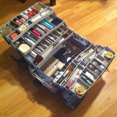 20 Ideas to Make DIY Jewelry Holder Stay Organized Tackle box