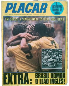 REVISTA PLACAR 12/06/1970 - FIFA WORLD CUP 1970