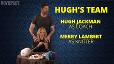 "The Knitting Olympics with Hugh Jackman & Taron Egerton"" - KnitCrate LLC"