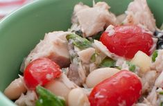 A refreshing alternative to tuna salad. Pair with tomatoes and and some spinach leaves for a light lunch.