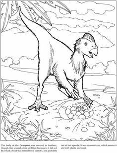 Welcome to Dover Publications 3-D Coloring Book - Dinosaurs