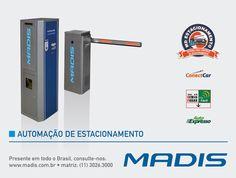 A Automação de Estacionamento feita pela MADIS é uma opção para quem quer um sistema de estacionamento eficaz e moderno. A Automação de Estacionamento MADIS possibilita o controle total da área de estacionamento e de todos os tipos de usuários.