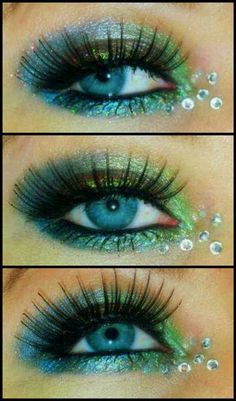 Beautiful mermaid eyes
