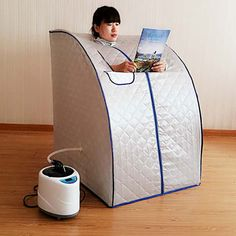 portable steam bath online. buy kawachi portable sauna steam bath online to get slim and tone your body at home by sweating burning fat using bath. call now: 0-90411\u2026