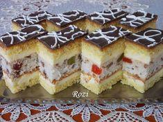 Rozi Erdélyi konyhája: Polgármester szelet Cake Cookies, Cupcake Cakes, Hungarian Recipes, Cute Desserts, Meatball Recipes, Sweet And Salty, Sweet Recipes, Cookie Recipes, Cheesecake