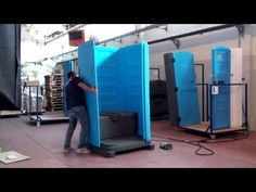 TOIBLU TOIMEX Portable Toilet / Sanitarios Portátiles - See the entire process of how one Porta Potty / Portable Toilet is made by TOIBLU, a manufacturer specializing in the RotoMolding Plastic Process.  This video explains how one TOIMEX portable toilet is made. #sanitariosPortatiles #hechoEnMexico #fabricadoenMexico #Monterrey #Mexico #plastic #plasticprocess #HowitsMade #construction #banos #restroom #portapotty #portabletoilet #toilet #rentaltoilet