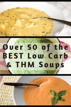 Over 50 of the BEST Trim Healthy Mama Friendly & Low Carb Soups! via @joyfilledeats