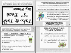"""Twin Sisters Speech & Language Therapy: Linky Party: Take & Talk Speech Sound Carryover Book for the """"S"""" Sound (FREEBIE)"""
