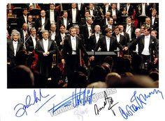Mehta, Zubin - Welser-Most, Franz - Ozawa, Seiji - Gatti, Daniele - Thielemann, Christian - Photo Signed by all 5!