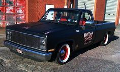 1987 chevy long box lowered | 1987 Chevy Chevrolet Pickup Shop Truck Rat Rod 87 Long Bed - Used ...
